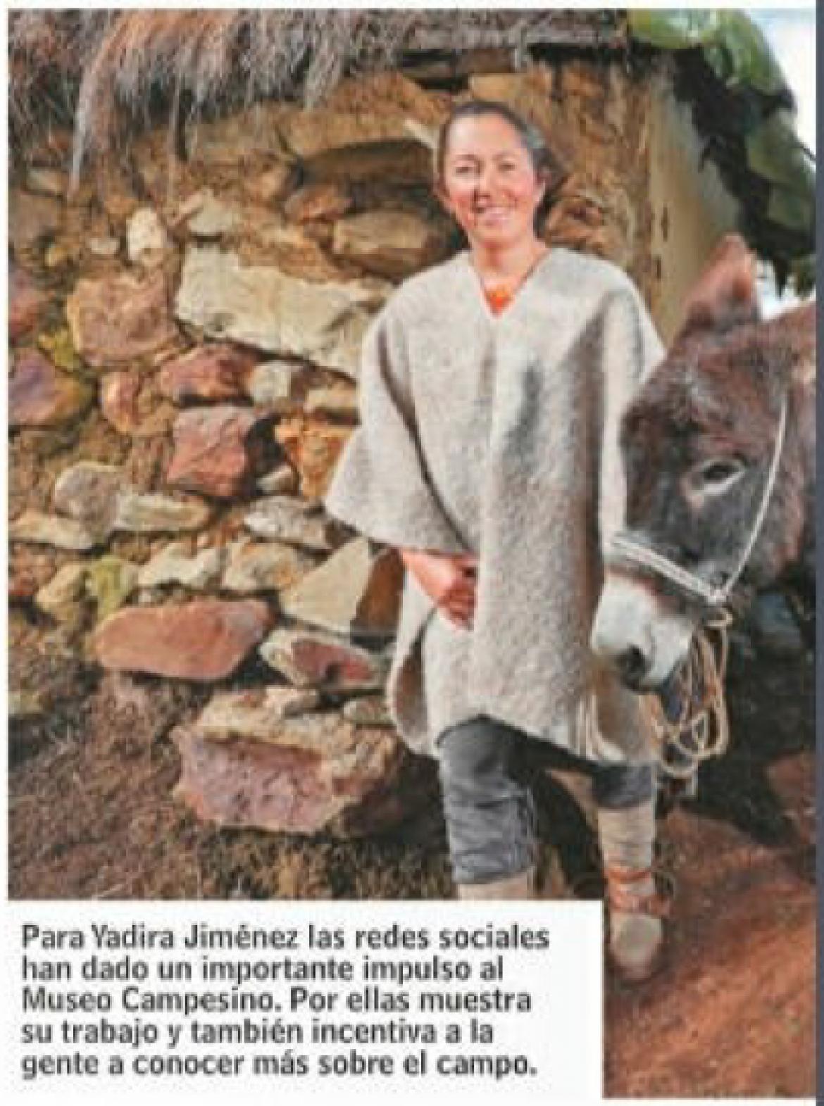 El Museo Campesino en Revista Dinero